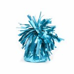 Light Blue Foil Balloon Weights