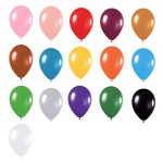 10″ Metallic Latex Balloons
