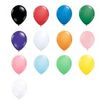 5″ Standard Latex Balloons