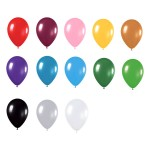 12″@3.2g Metallic Latex Balloons