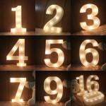 Number LED