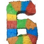 Number 6 Pinata