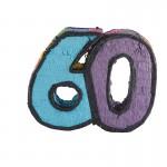 Number 60 Pinata