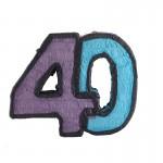 Number 40 Pinata