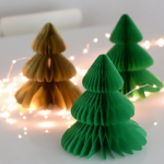 Christmas Tree  Honeycomb Ball -TA017
