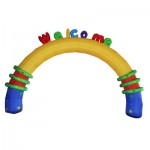 Customized Inflatable Rainbow Arch