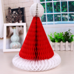 Christmas Hat Honeycomb Ball-TA016