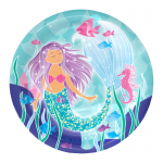 Mermaid party plate
