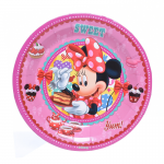 Minnie Mouse party plate