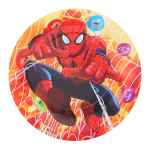 Spiderman party plate