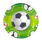 football party plate