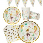 mermaid tableware sets