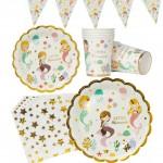 mermaid tableware sets