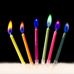 Color Flame Candle