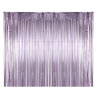 Metallic curtain