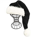 Black Christmas hat