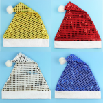 Bright color Christmas hat