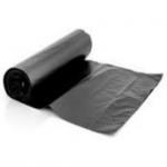 Garbage Bag 240 Litre Black Roll 100 Ea