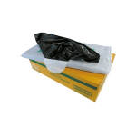 Garbage Bag 80 Lt 16gal Heavy Duty Black Ct 250