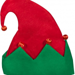 LED flashing elf hat