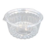 Shobowl 8oz Flat Lid PET Ct 200