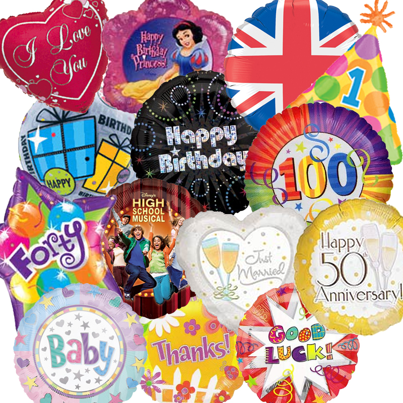 Party supplies, foil balloon, latex balloons, balloon accessories