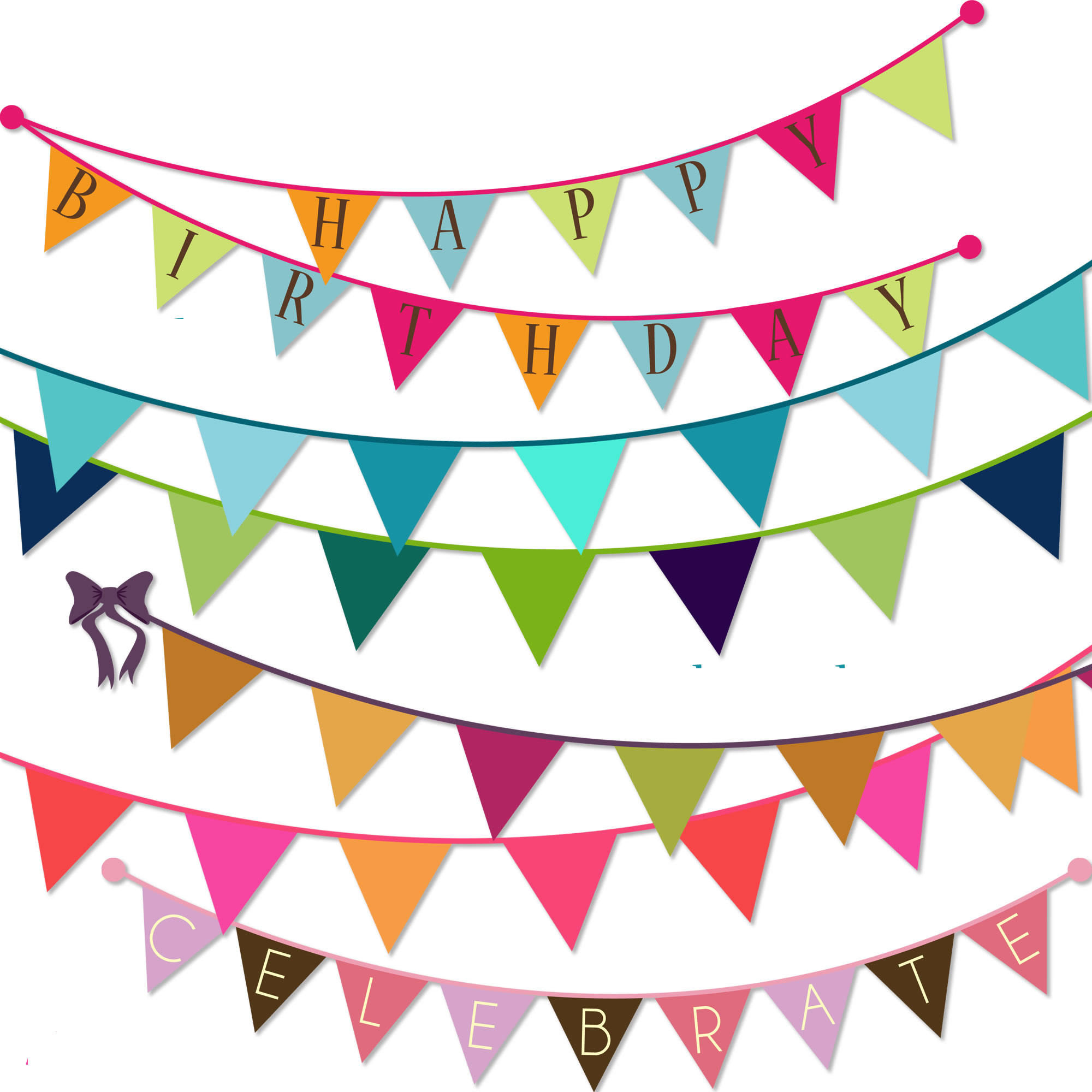 Bunting party supplies foil balloons balloon for Balloon banner decoration