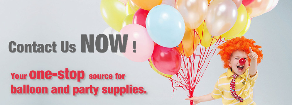 balloons and party supplies one-stop source