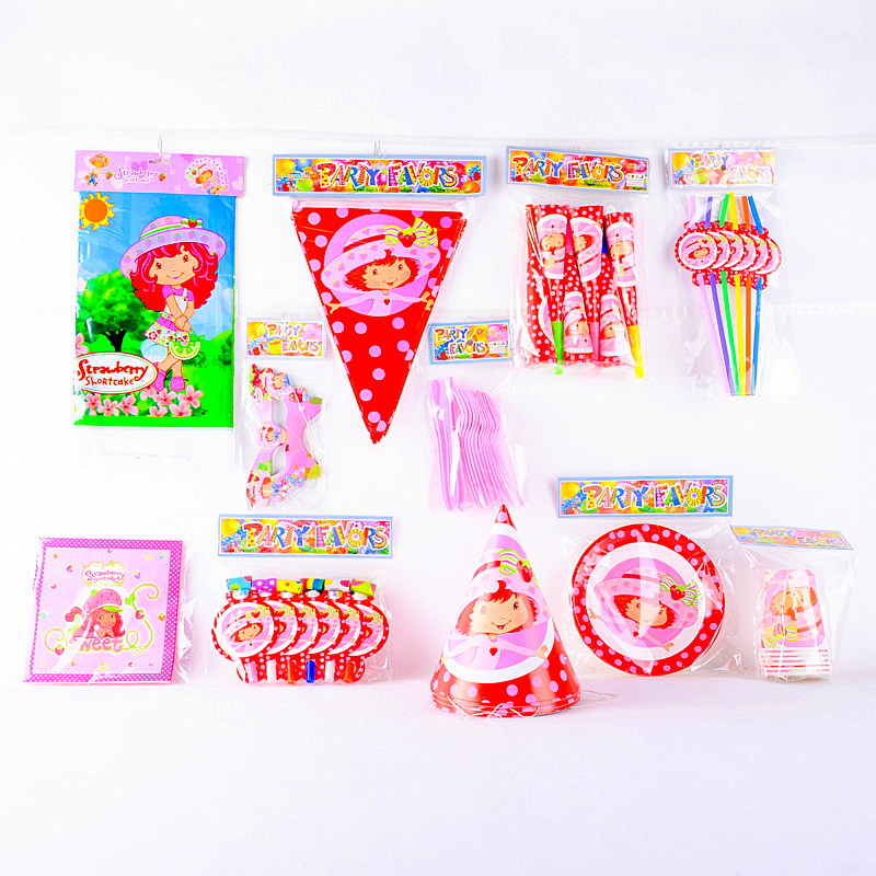 Strawberry Shortcake Party Supplies In Asia 102
